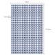 Selbstklebende Strasssteine in hellblau 5mm