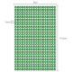 Selbstklebende Strasssteine in grün 5mm